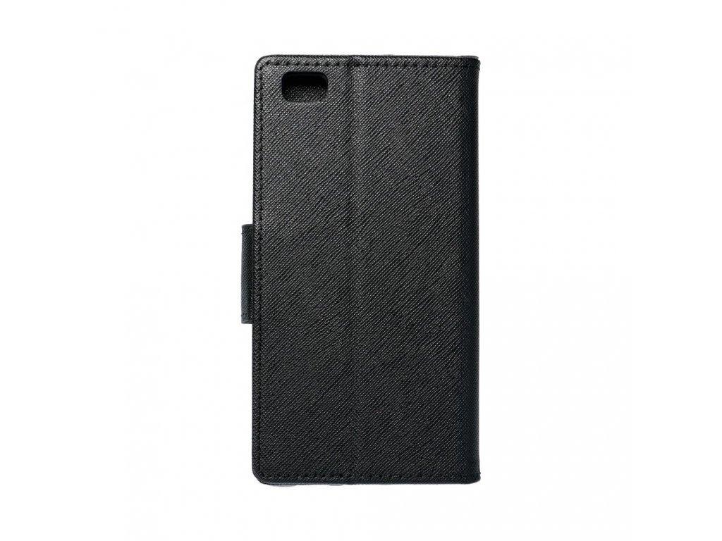 Fancy pouzdro Book - Huawei P8 Lite - černé