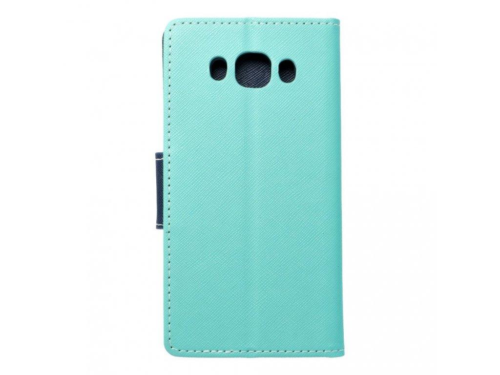 Fancy pouzdro Book - Samsung J510 Galaxy J5 (2016) - modro/mátové