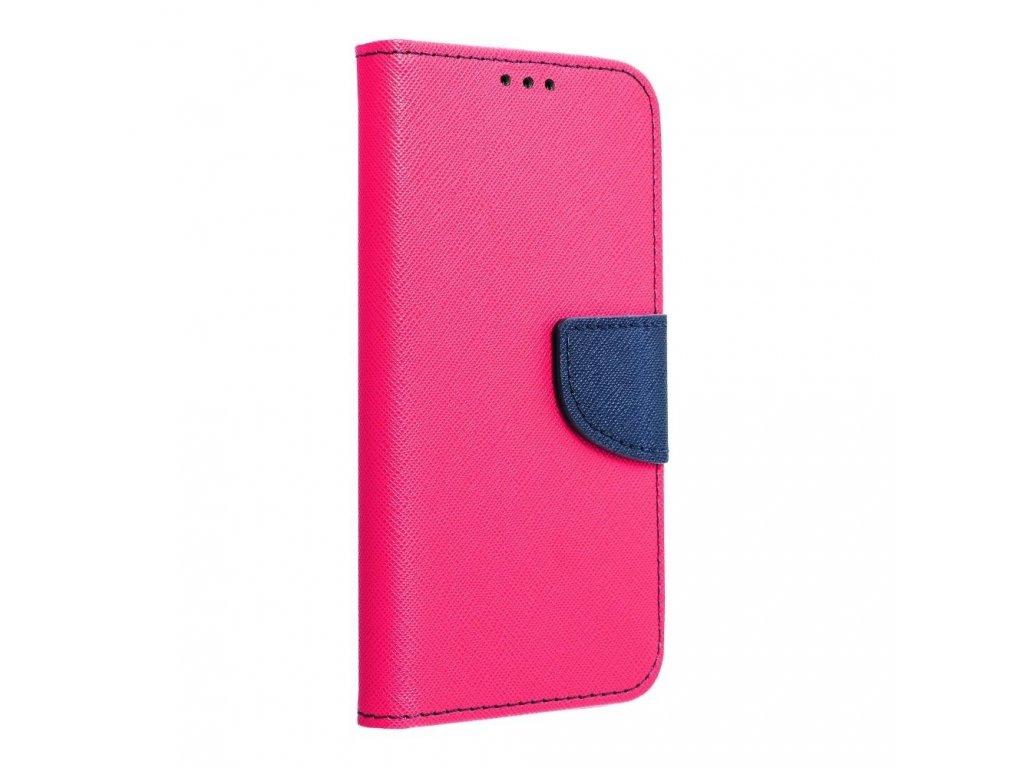 Fancy pouzdro Book Samsung J320 Galaxy J3 (2016) - modro/růžové