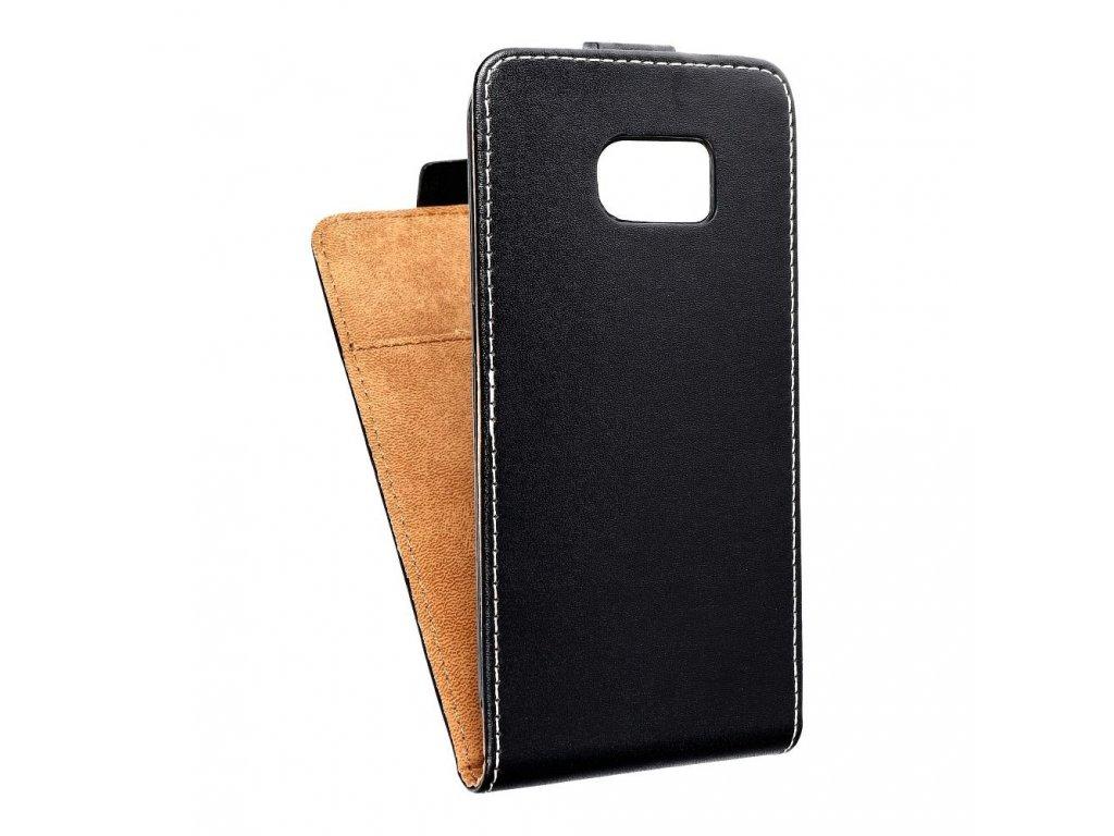 Forcell pouzdro Slim Flip Flexi FRESH pro Samsung G925F Galaxy S6 Edge - černé