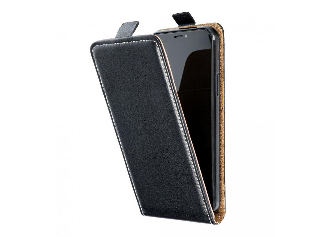 Forcell pouzdro Slim Flip Flexi FRESH pro Samsung i9195 Galaxy S4 Mini - černé