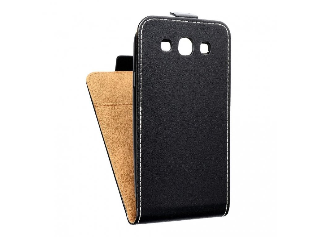 Forcell pouzdro Slim Flip Flexi FRESH pro Samsung i9300 Galaxy S3 - černé