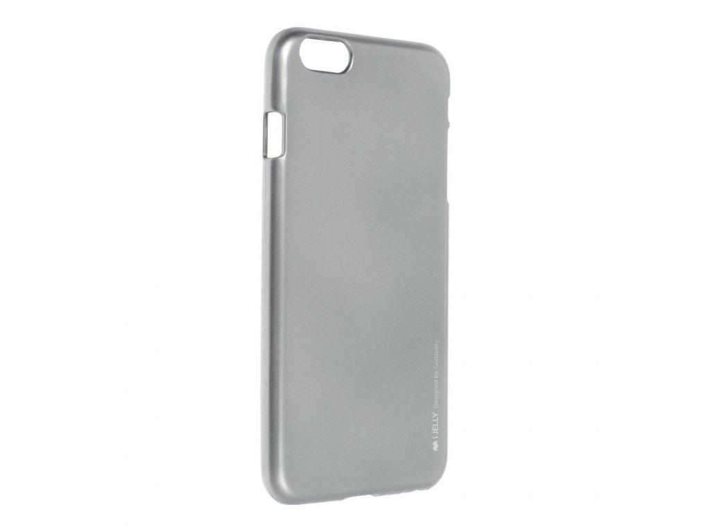 Pouzdro i-Jelly MERCURY/GOOSPERY pro Apple iPhone 6/6S Plus - šedé