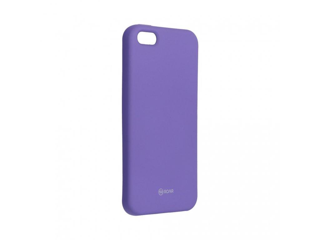 Pouzdro Roar Colorful Jelly Case Apple iPhone 5/5S - fialové