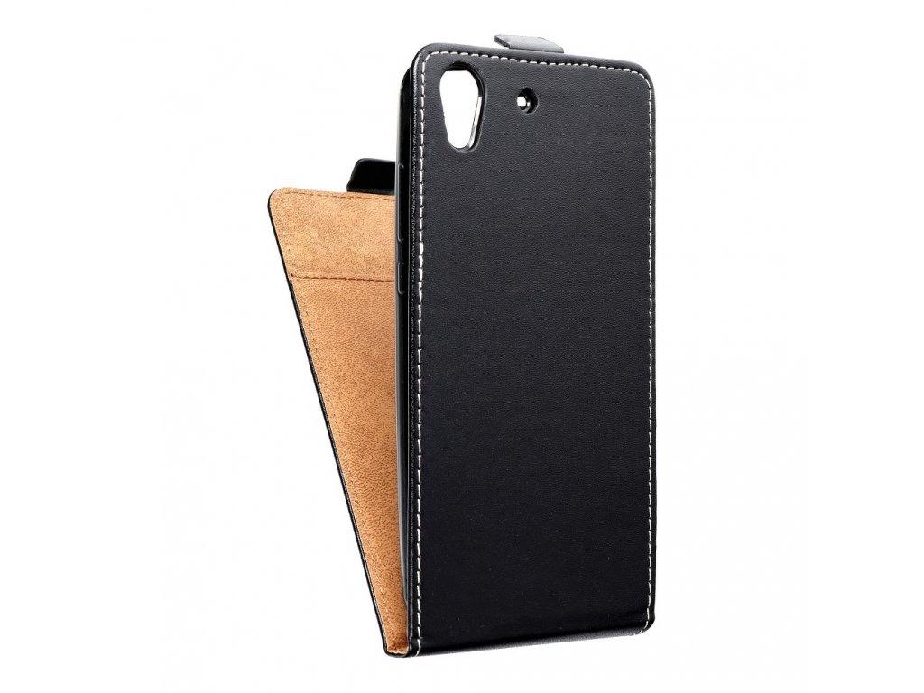 Forcell pouzdro Slim Flip Flexi FRESH pro Huawei Y6 II (Y6-2) černé