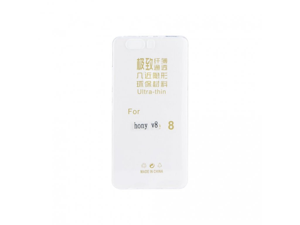 Pouzdro Back Case Ultra Slim 0,3mm - HUAWEI Honor V8 transparentní