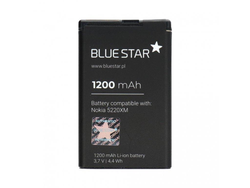 Baterie 1200mAh Blue Star Nokia 5220 XM, Li-Ion (náhrada za BL-5CT) (BS)Premium