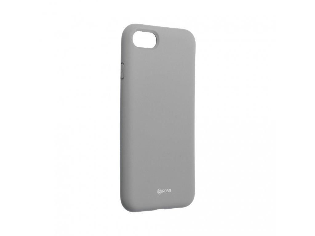 Pouzdro Roar Colorful Jelly Case Apple iPhone 7 šedé