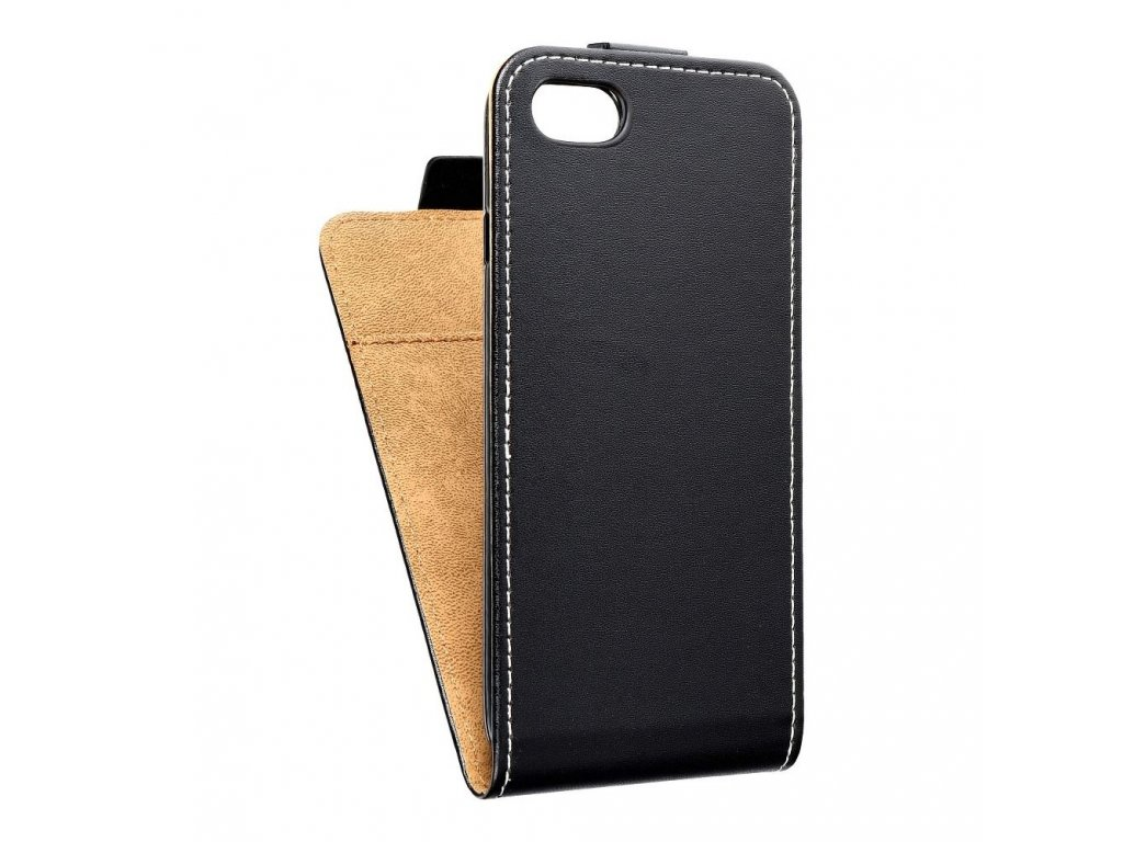 Forcell pouzdro Slim Flip Flexi FRESH pro Apple iPhone 7/8 černé