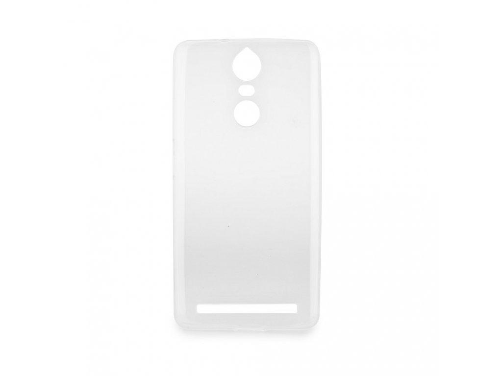 Pouzdro Back Case Ultra Slim 0,3mm - Lenovo K5 Note transparentní