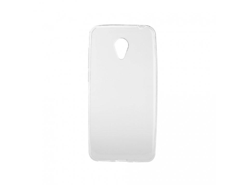 Pouzdro Back Case Ultra Slim 0,3mm - MEIZU M3s transparentní