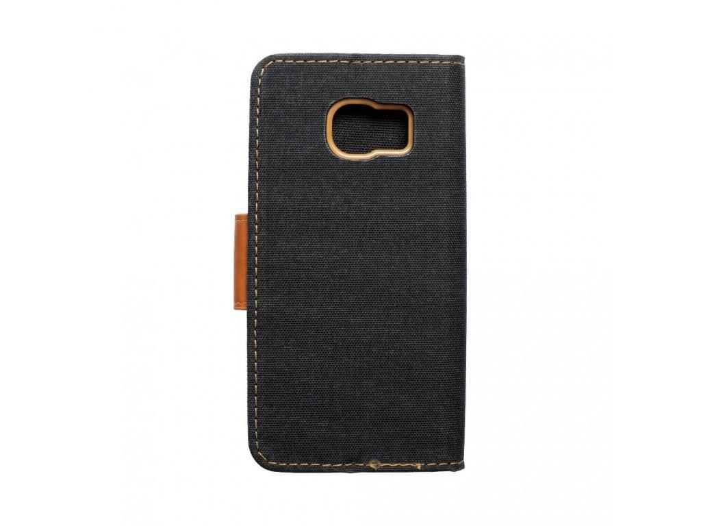 Pouzdro Canvas Mercury Book pro Samsung G925F Galaxy S6 Edge - černé