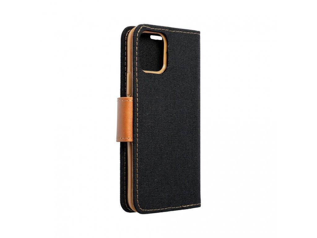 Pouzdro Canvas Mercury Book pro Samsung Galaxy S6 - černé