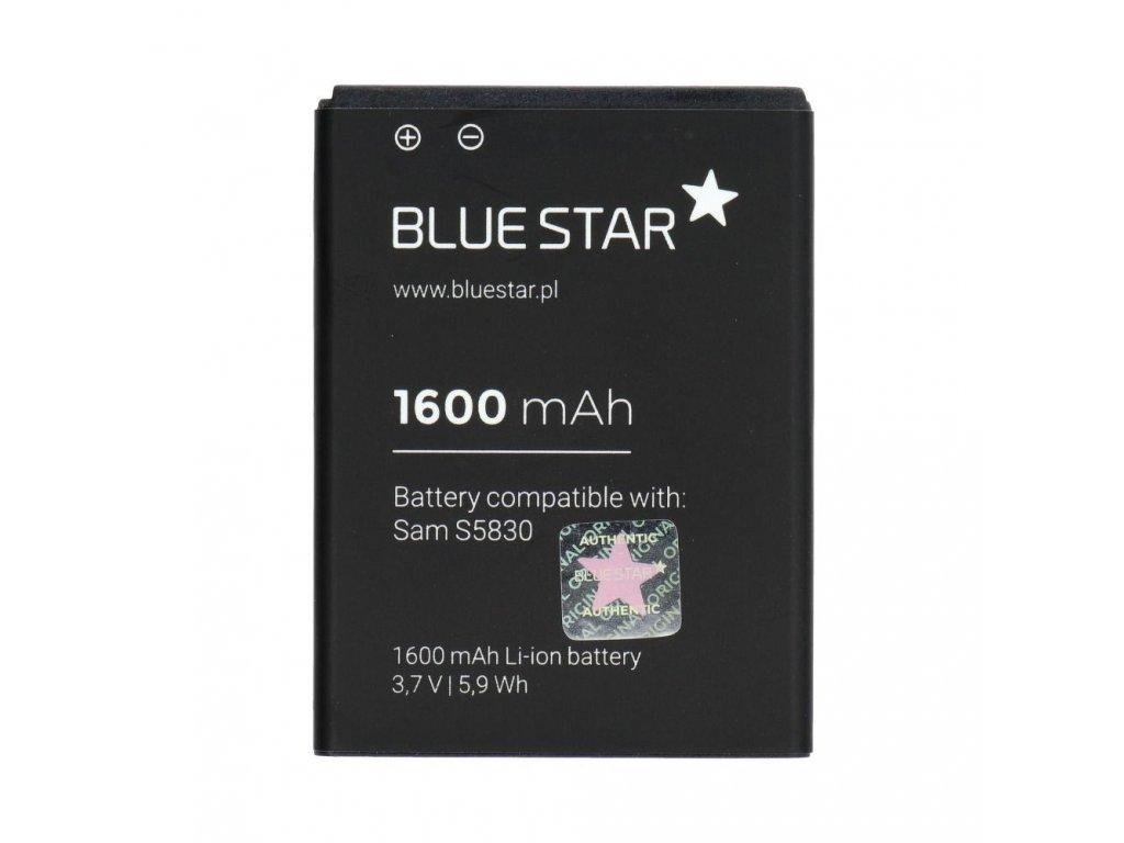 Baterie Blue Star Samsung S5830 Galaxy Ace / 1600mAh Li-Ion (BS-EB494358VU)