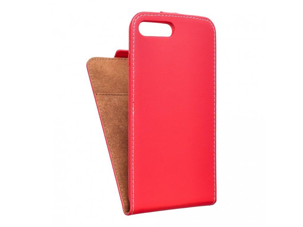 Forcell pouzdro Slim Flip Flexi FRESH pro Apple iPhone 7 Plus červené