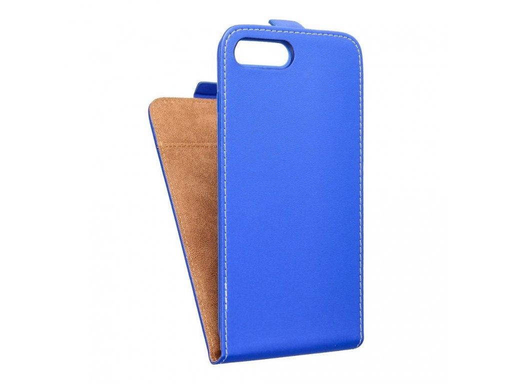 Forcell pouzdro Slim Flip Flexi FRESH pro Apple iPhone 7 Plus modré