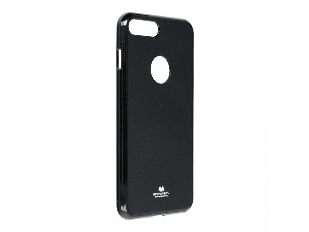 Pouzdro Goospery Mercury Jelly pro Apple Iphone 7 Plus černé s výřezem na logo