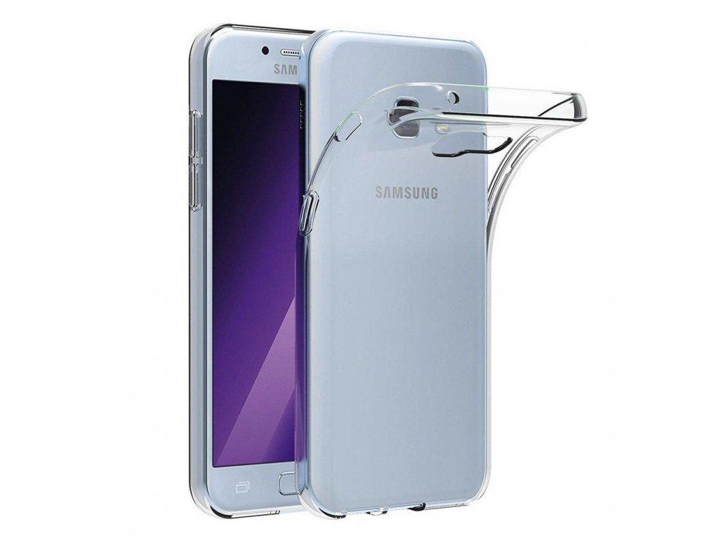 Pouzdro Back Case Ultra Slim 0,3mm - Samsung Galaxy A3 2017 (A320) transparentní