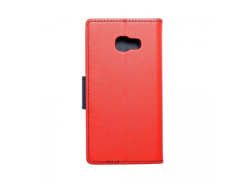 Fancy pouzdro Book - Samsung Galaxy A5 2017 - modro/červené