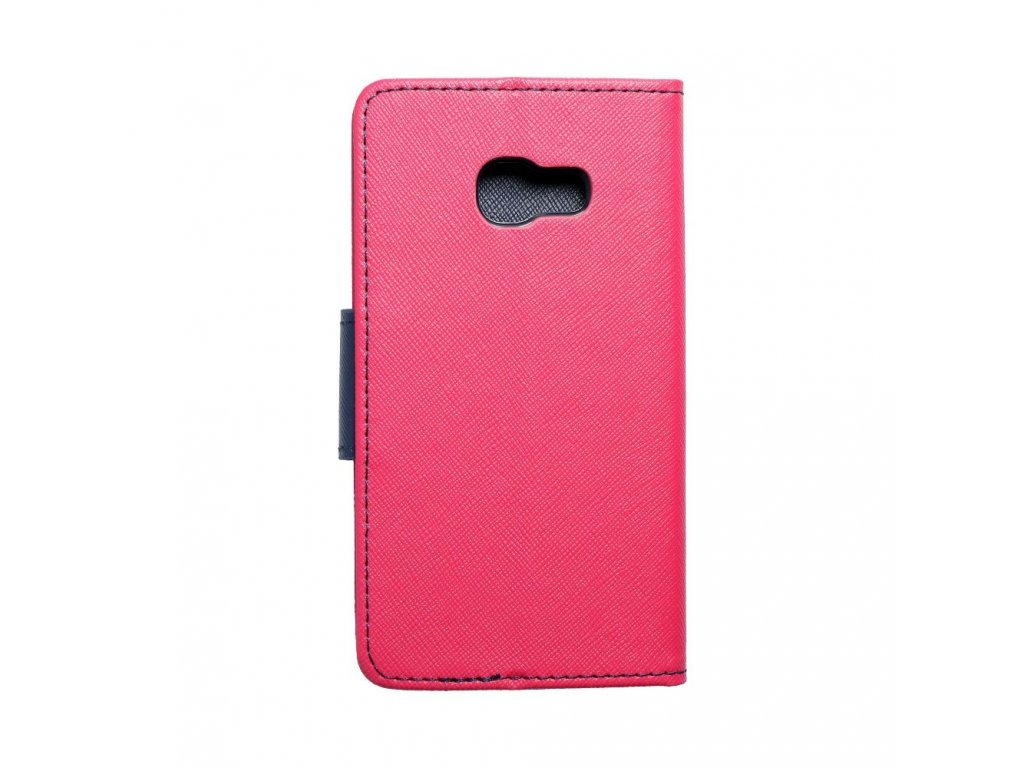 Fancy pouzdro Book - Samsung Galaxy A3 2017 - modro/růžové