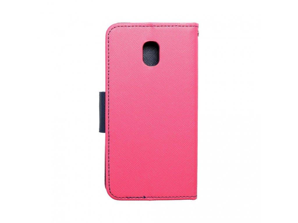 Fancy pouzdro Book - Samsung Galaxy J3 2017 - modro/růžové