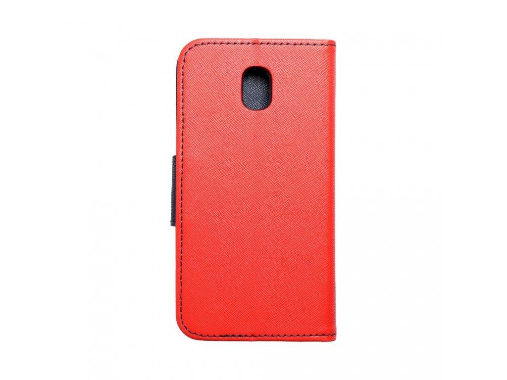 Fancy pouzdro Book - Samsung Galaxy J3 2017 - modro/červené