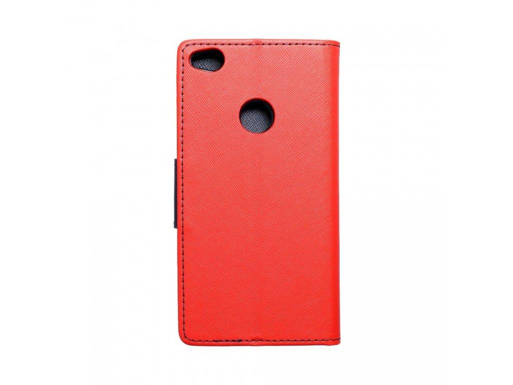 Fancy pouzdro Book - Huawei P8 Lite (2017) - modro/červené