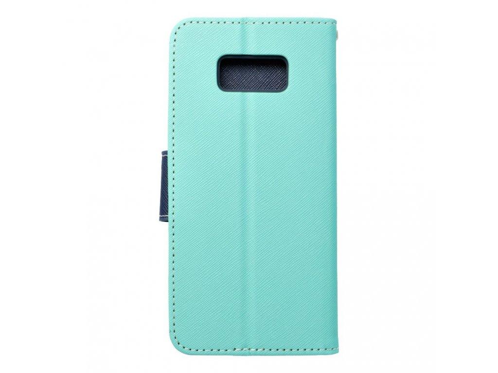 Fancy pouzdro Book - Samsung G955 Galaxy S8+ - modro/mátové
