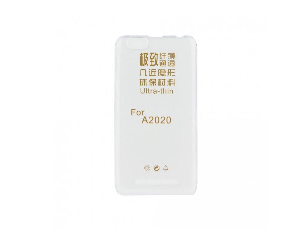 Pouzdro Back Case Ultra Slim 0,3mm - Lenovo MOTO Z Play transparentní