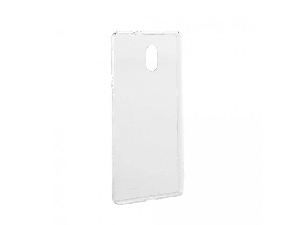 Pouzdro Back Case Ultra Slim 0,3mm - Nokia Lumia 3 transparentní