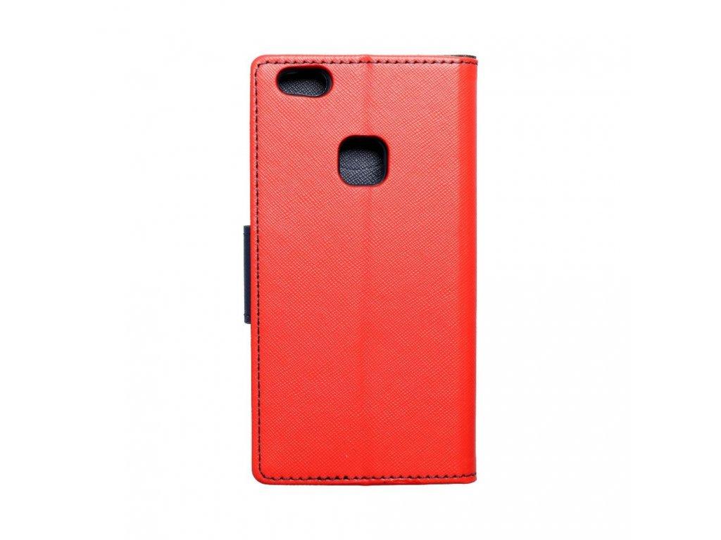Fancy pouzdro Book - Huawei P10 Lite - modro/červené