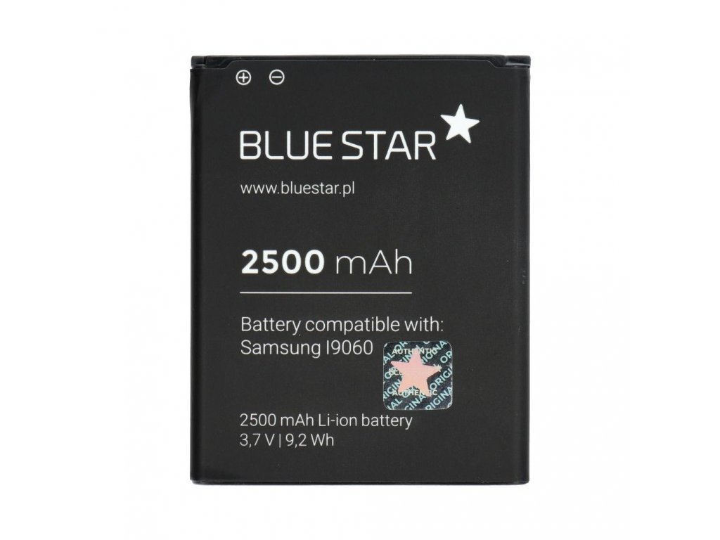Baterie Blue Star Samsung i9082 Galaxy Grand, i9060 Galaxy Grand Neo 2500mAh Li-Ion BS(Premium)