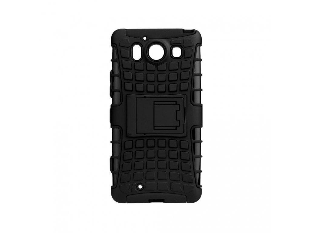 odolne pouzdro hard case panzer pro microsoft lumia 640 xl cerne w1200 cfff