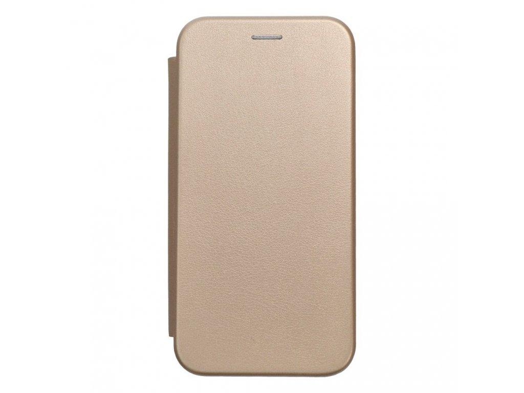 Pouzdro Forcell Book Elegance Samsung Galaxy S7 Edge (G935) zlaté