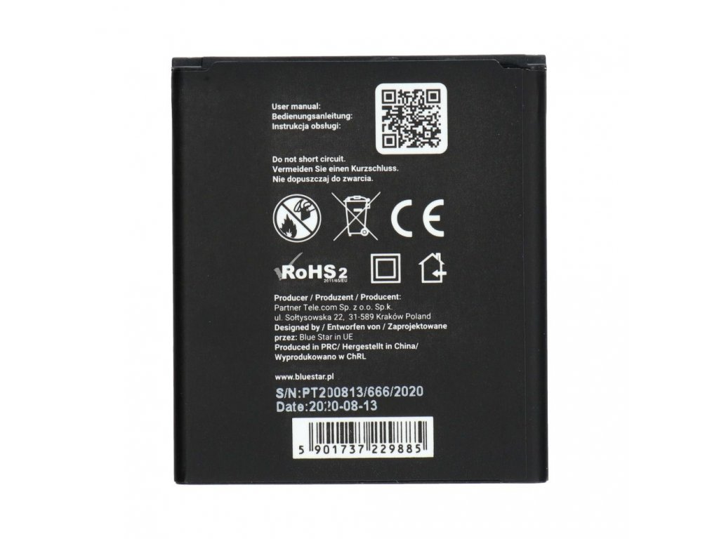 Baterie Blue Star Samsung S7710 Xcover 2 1500mAh Li-Ion