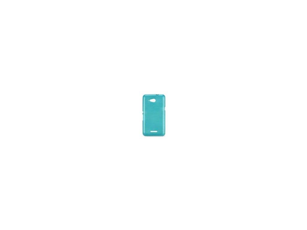 63581 pouzdro jelly case brush pro samsung galaxy trend 2 lite g318 modre