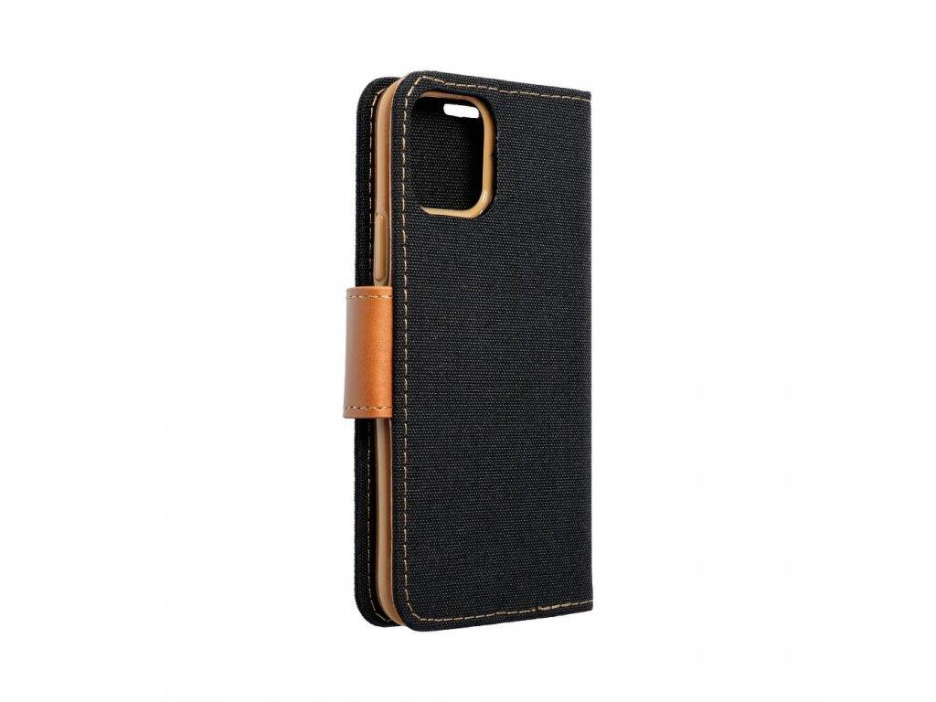 Pouzdro Canvas Mercury Book - Samsung Galaxy S8 černé