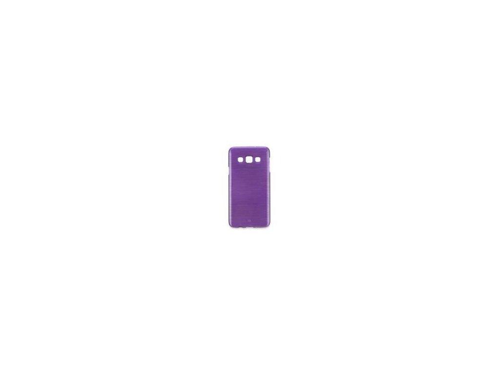 63825 pouzdro jelly case brush pro sony xperia e4 fialove