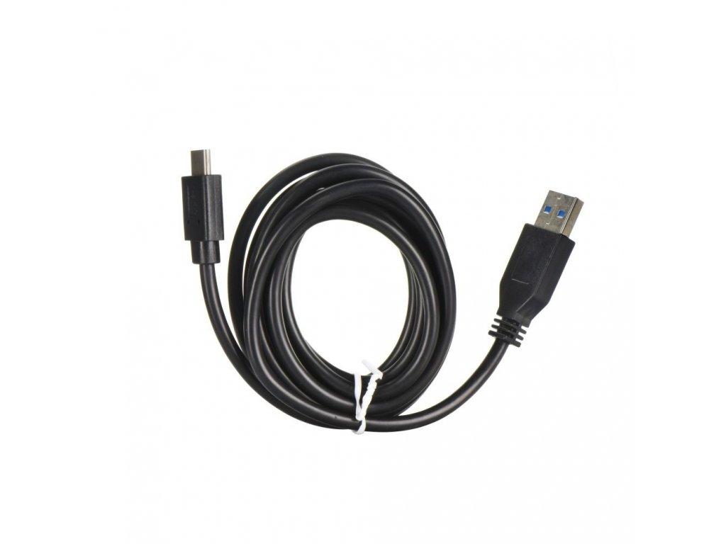 Kabel USB - USB-C (TYP C) 3.1 / USB 3.0 černý - 2 metry