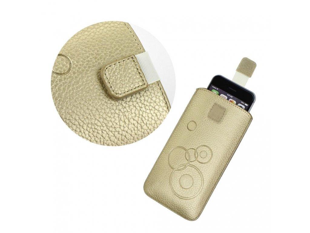 Forcell Deko Case Apple Iphone 6/6S Plus zlaté