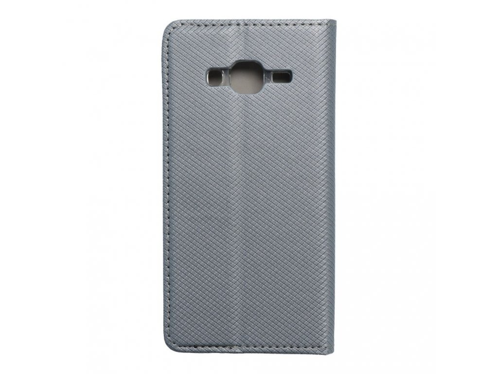 Pouzdro Smart Case Book Samsung Galaxy J5 metalické
