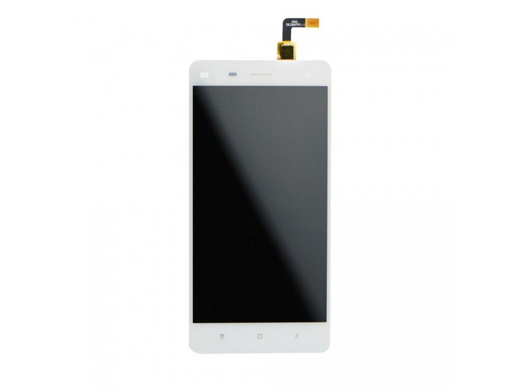LCD displej + dotyková deska pro Xiaomi Mi4 - bílá