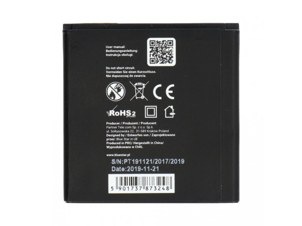 Baterie 1500 mAh Li-Ion Blue Star pro Wiko Goa