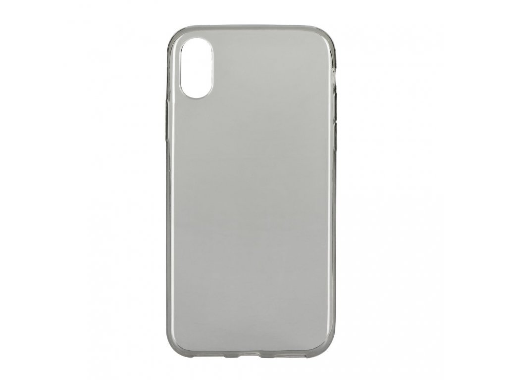 Pouzdro Back Case Ultra Slim 0,3mm Apple Iphone X černé