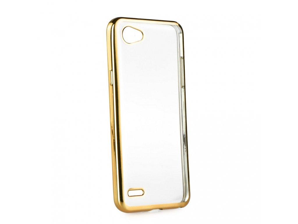 Pouzdro ELECTRO Jelly pro LG Q6 zlaté