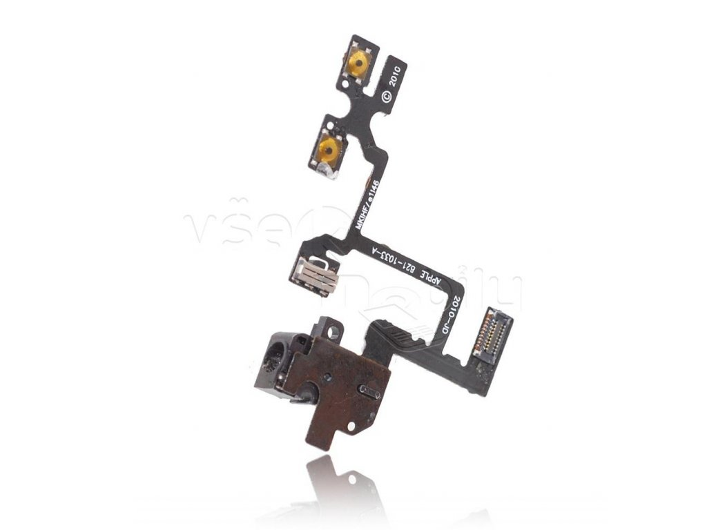 flex kabel iphone 4 audio jack cerna w1200 cfff