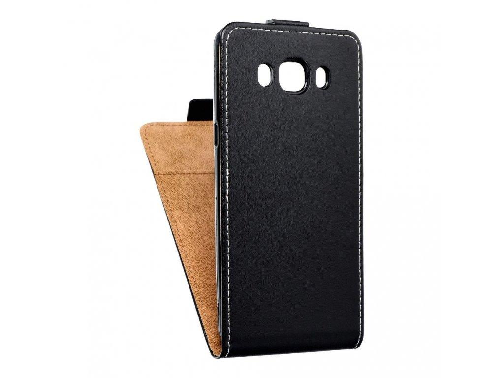 Forcell pouzdro Slim Flip Flexi FRESH pro Samsung J510 Galaxy J5 (2016) - černé