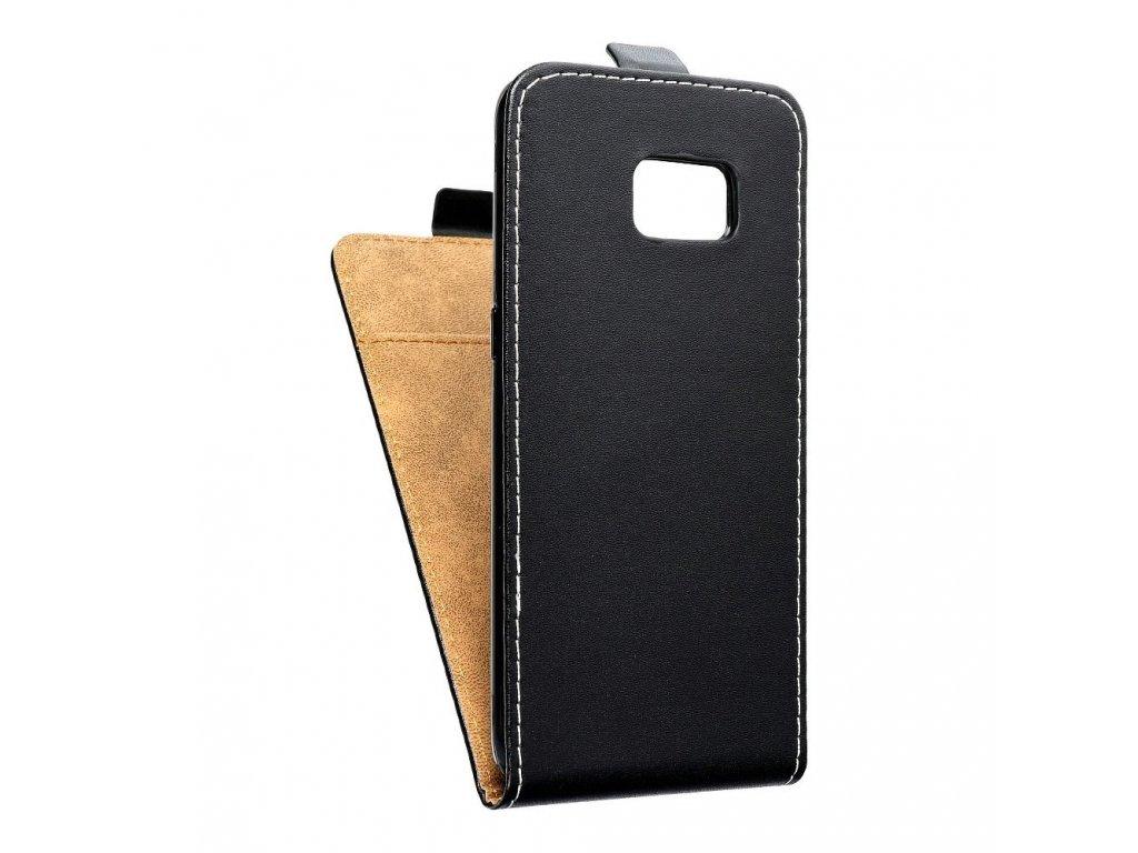 Forcell pouzdro Slim Flip Flexi FRESH pro Samsung G935F Galaxy S7 Edge - černé