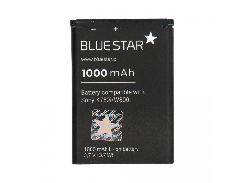 Baterie Sony Ericsson K750i, D750i, W550i, W800, W810, Z710i Li-Ion 1000 mAh (náhrada BST-37)