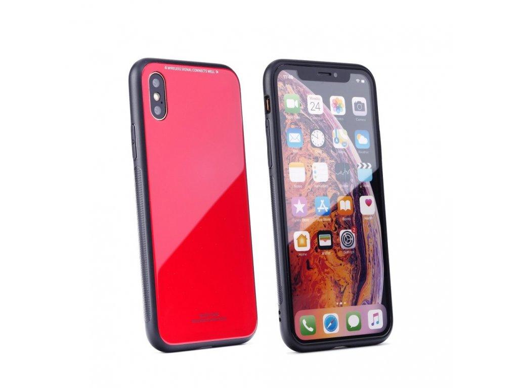 83265616f6 Pouzdro Forcell Glass Apple Iphone 5   5S  SE červené - FORCELL.CZ